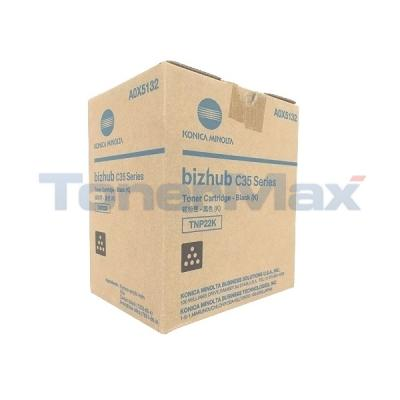 KONICA MINOLTA BIZHUB C35 TONER BLACK